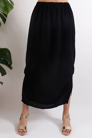 One Life Mahi Skirt Black