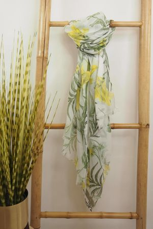 Orchid Palm Scarf