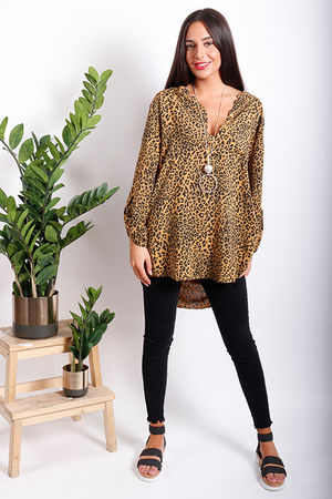Oversized Cheater Shirt Orche
