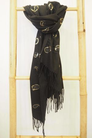 Paisley Park Soft Touch Scarf Black