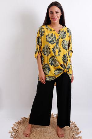 Palm Shirt Mustard