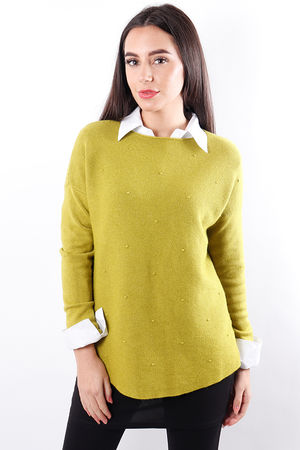 The Pimple Knit Lime