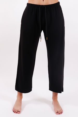 Postcard Ellie Raw Edge Pants Soft Black