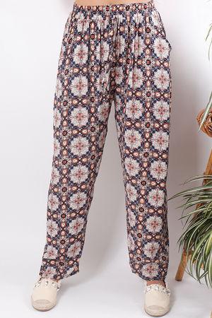 Print Pants Spice