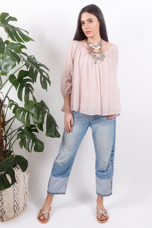 Pure & Simple Gypsy Top Blush