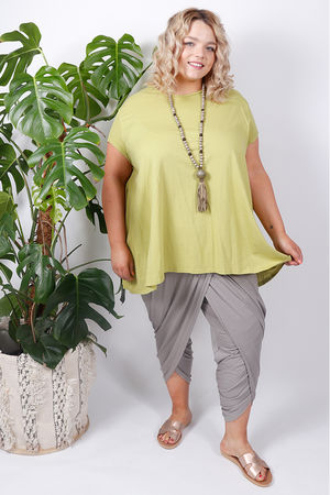 Pure & Simple Swing Top Lime