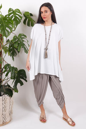 Pure & Simple Swing Top White