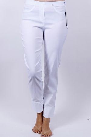 Robell Bella White Trousers
