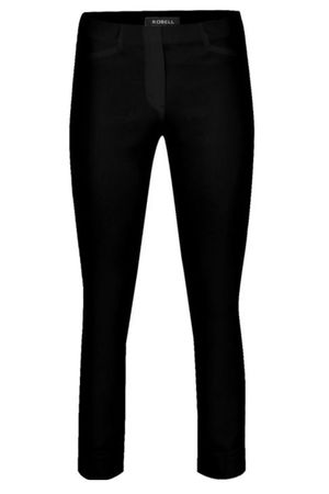 Robell Rose Black 7/8 Trousers