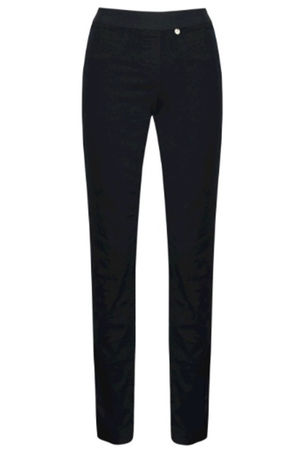 Robell Rose Elasticated Band Trousers Black