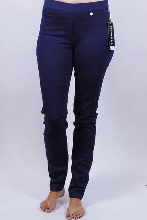 Robell Rose Navy Trousers
