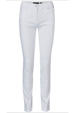 Robell Star Denim Jean White