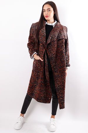 Rusty Leopard Coatigan