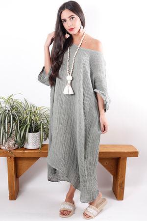 The Sahara Dress Soft Khaki