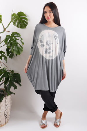 Sahara Fossil Top Grey