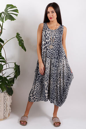 Sahara Leopard Parachute Dress