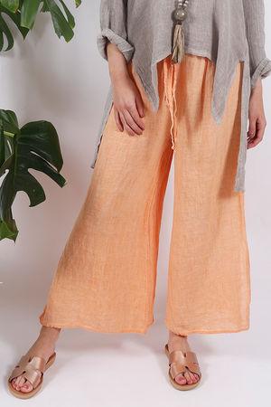 Sahara Split Side Pants Apricot