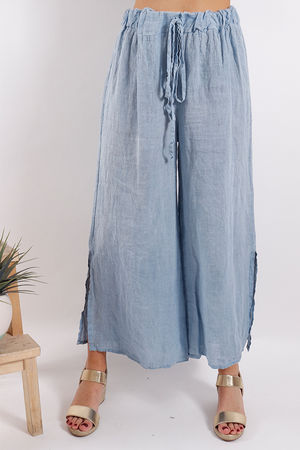 Sahara Split Side Pants Denim