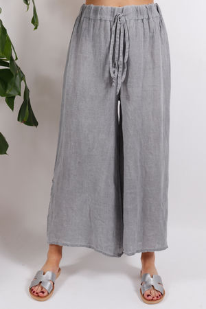 Sahara Split Side Pants Grey