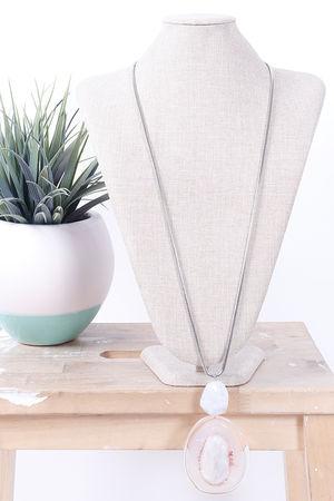 Savannah Magic Resin Necklace