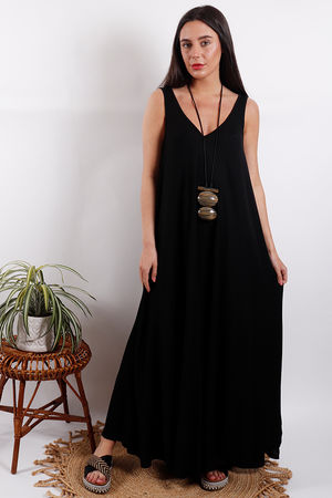 Savannah Maxi Dress Black