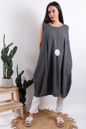 Savannah Textured Tunic Slate