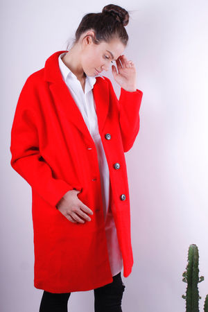 Scarlett Red Coat