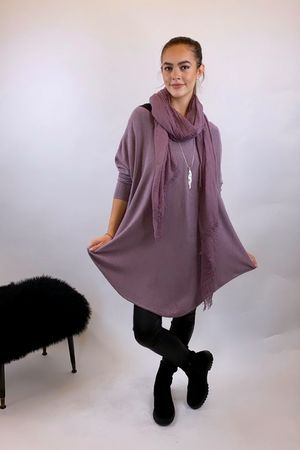 The Scoopy Knit Grape