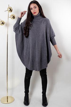 The Semi Circle Knit Grey