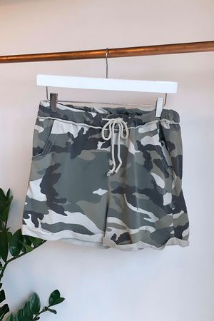 Seven Nation Camo Shorts