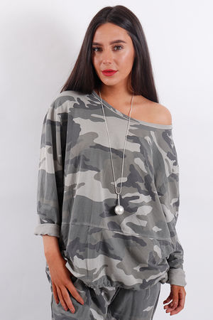 Seven Nations Camo Sweat