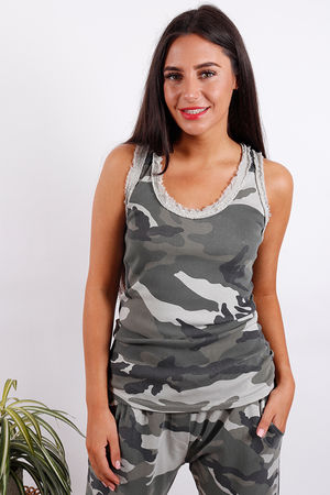 Seven Nations Raw Edge Camo Vest