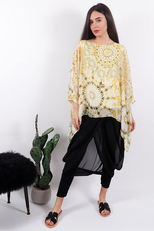 Silk Road Ossie Top Yellow