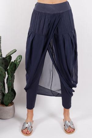 Silk Road Skirt Legging Midnight