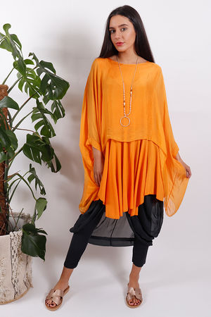Silk Road Tencel Top Mango