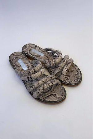 Snake Strap Sliders