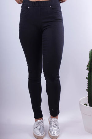 Soft B Black Stretch Pants