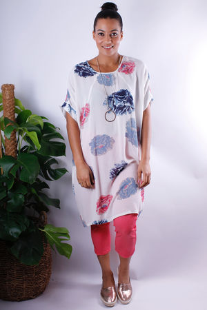 Soft B Blossom Oversized Tunic