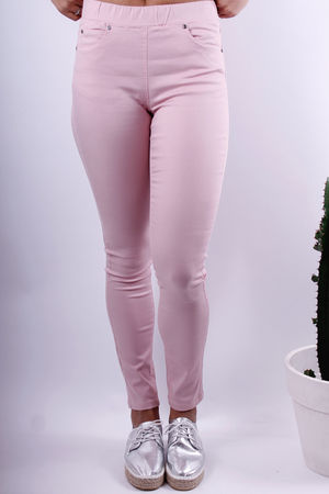 Soft B Rose Ruby Stretch Pants