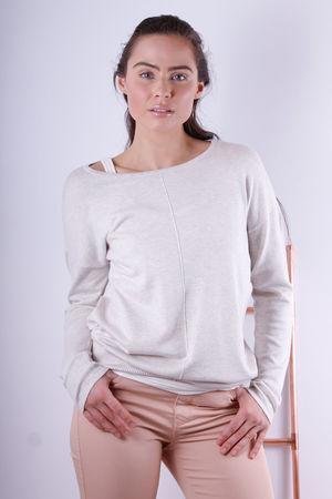 Soyaconcept Dollie Light Sand Melange Knit