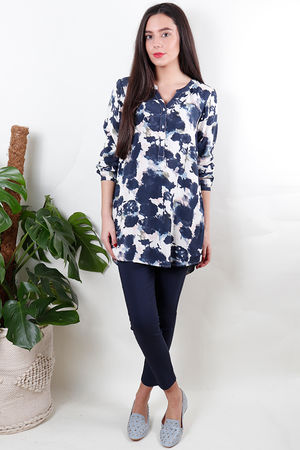 Soyaconcept Imalea Long Sleeve Blouse Midnight