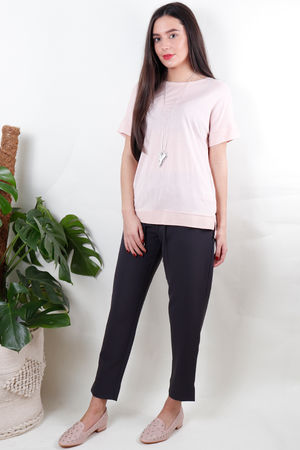 Soyaconcept Isra Round Neck Tee Rose