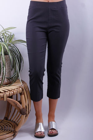 Soyaconcept Lilly Stretch Cropped Pull Ons Dark Earth