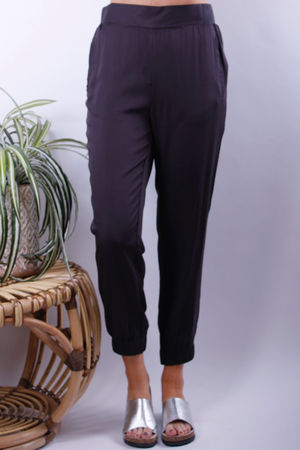 Soyaconcept Maira Cuff & Pocket Pants Dark Earth