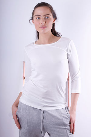 Soyaconcept Pylle Off White Basic Top