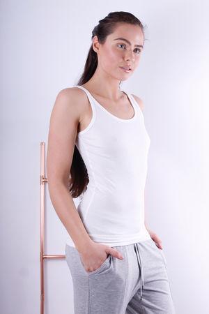 Soyaconcept Pylle Off White Basic Vest