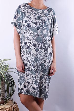 Soyaconcept Tonita Floral Tunic Khaki