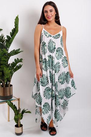 St Kitts Palm Handkerchief Dress