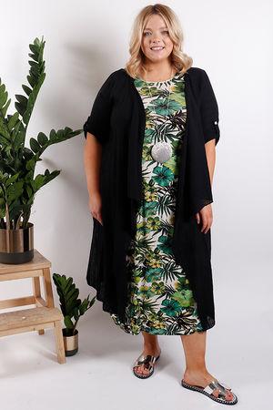St Kitts Textured Jacket Black