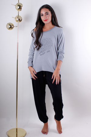Starling Heart Printed Sweat Mouse